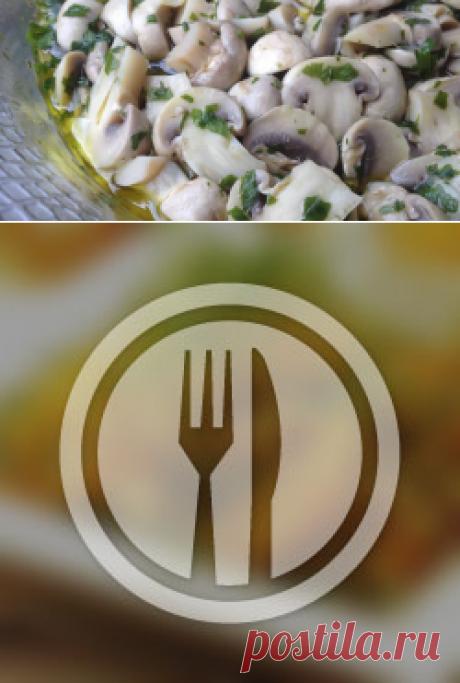Las recetas con los champiñones - Todas las recetas de Rusia