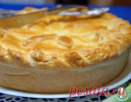 Пирог с куриной печенкой – кулинарный рецепт