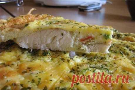 Как приготовить рыба, запеченная в яйце с майонезом - рецепт, ингридиенты и фотографии