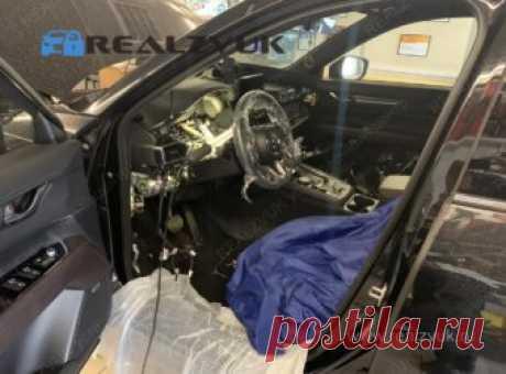 Правильная защита от угона Mazda CX5 с гарантией | RealZvuk