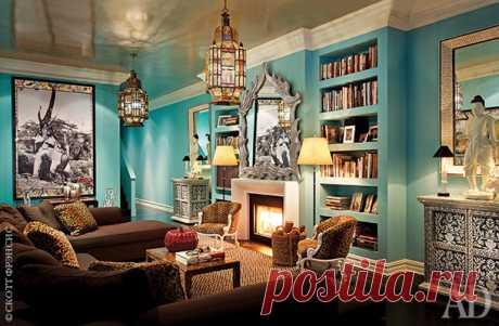 Эклектичная квартира в Нью-Йорке от декоратора Томаса Бритта - Дизайн интерьеров | Идеи вашего дома | Lodgers