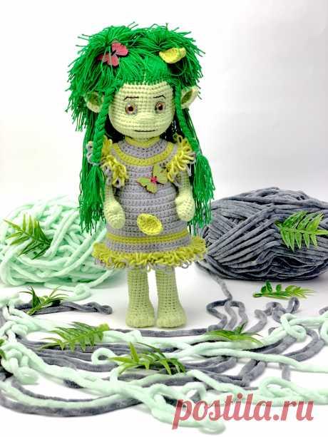 Мастер-класс по вязанию крючком, кукла крючком, схема вязания крючком, описание Амигуруми, амигуруми кукла, вязание схемы, LanaMi toys