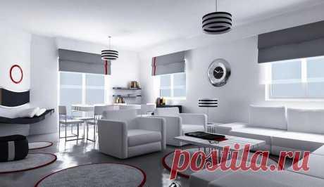 Стиль хай-тек в интерьере – как сделать > 50 фото примеров дизайна hi-tech квартир и домов