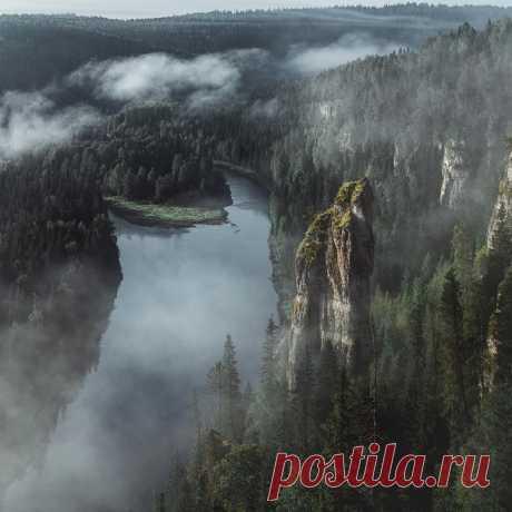 Усьвинские Столбы, Пермский край