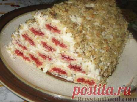 Торт без выпечки - 30 рецептов с фото