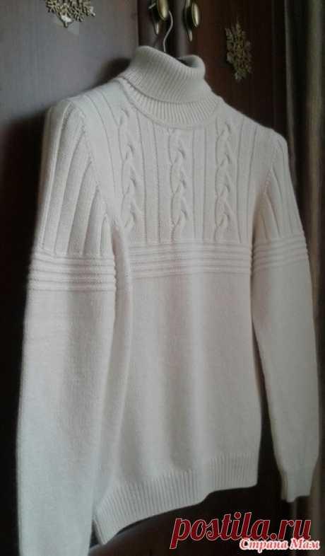 . Мужской свитер по мотивам Brunello Cucinelli - Вязание - Страна Мам