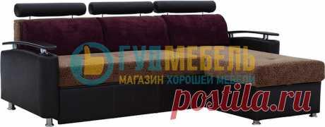 Диван угловой Лакоста-3 купить за 27290 руб. в интернет-магазине «Гуд Мебель»