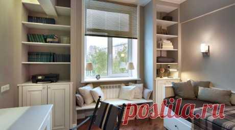 Дизайн маленькой комнаты: варианты обустройства помещения, фото интерьера