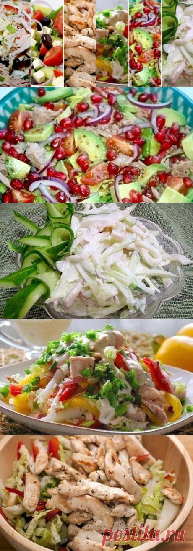 Вкусные диетические салаты на Новый год — Всегда в форме!