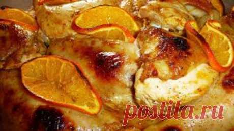Капризным гурманам! Курица и апельсины – прекрасное сочетание — Фактор Вкуса