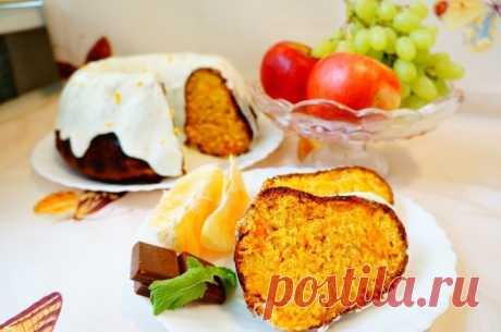 Морковно-апельсиновый кекс с курагой — Sloosh – кулинарные рецепты