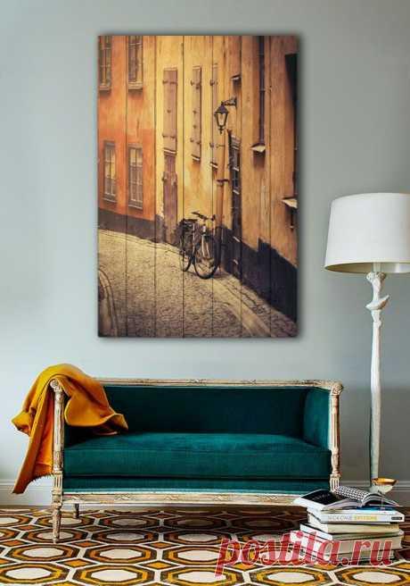 """Картина """"Стокгольм"""" по цене от 5900 руб. Размеры: 60x90 см, 80x120 см, 100x150 см, 120x180 см. Срок изготовления: 2-3 дня."""