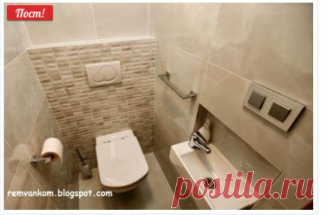 Ремонт ванной комнаты: Дизайн проект ванной комнаты в новой квартире с оригинальной идеей корзины для белья