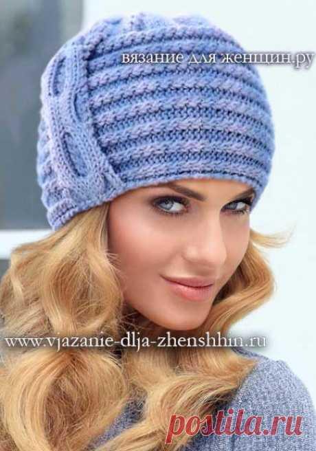 Los sombreros. El gorro a la moda tejido por los rayos la Dimensión del gorro tejido: 55-57 modelo Caliente tejido es útil y en el período invernal, y la primavera en el tiempo frío. Para la labor de punto