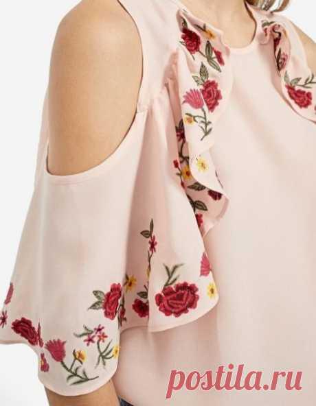 Интересный рукав – необычно и красиво (Мода и стиль) – Журнал Вдохновение Рукодельницы