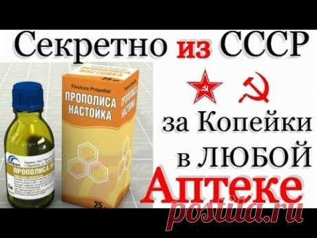 за 31 руб ЕМУ НЕТ АНАЛОГОВ! Прополис в СССР был на ВЕС ЗОЛОТА!