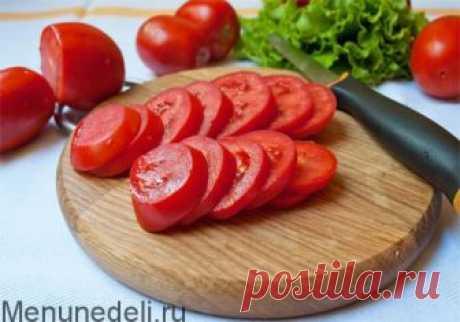 Как заморозить помидоры - рецепт с пошаговыми фото / Меню недели