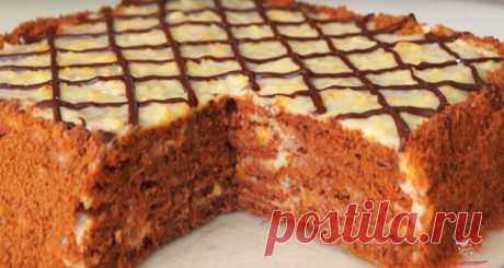 Простой торт без выпечки в домашних условиях