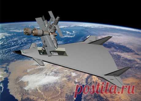 """Космолёт """"М-19"""" - ядерный двигатель и гиперзвук   ! КРЕПКИЙ !   Яндекс Дзен"""