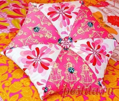 Подушка-шестиугольник