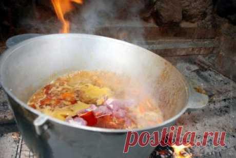 Рецепт бограчу - для приготування на вогнищі