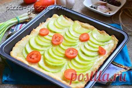 Кабачковый пирог с сыром в духовке