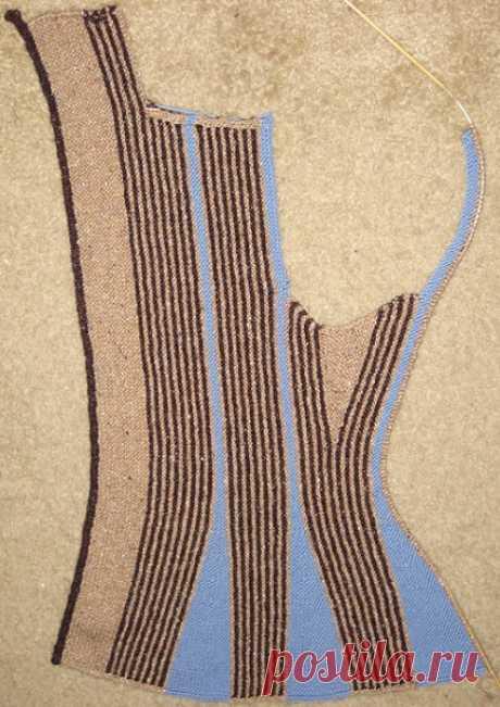 Жакет Mermaid от Hanne Falkenberg - запись пользователя Dzintra (Дзинтра) в сообществе Вязание спицами в категории Вязание для женщин спицами. Схемы вязания спицами