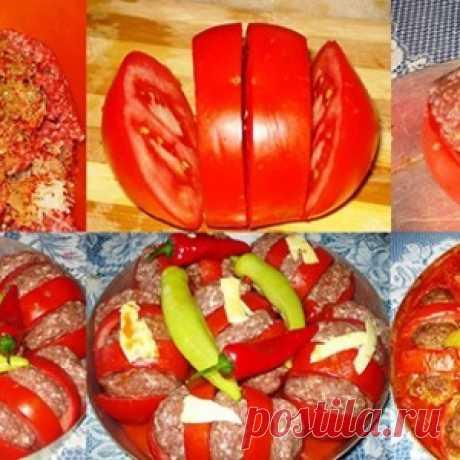 Запеченные помидоры с фаршем по-арабски: блюдо, которое станет фаворитом на твоем праздничном столе!