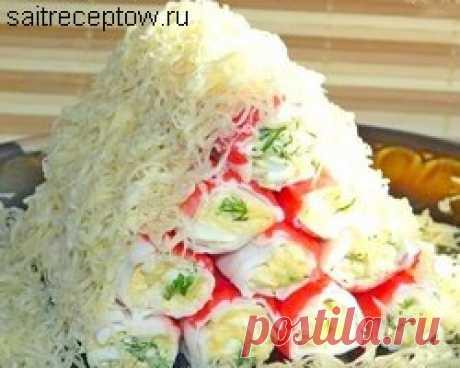 Закуска из крабовых палочек | Сайт рецептов
