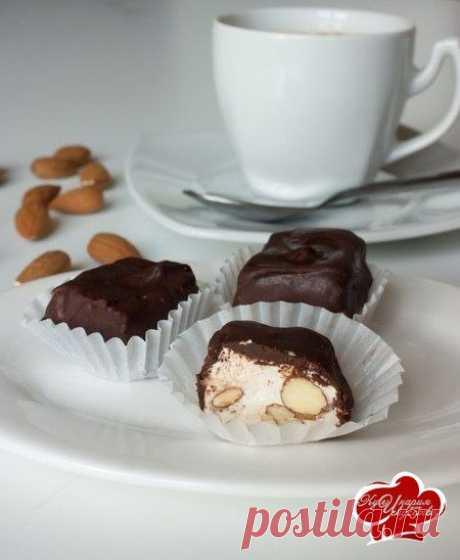 Нуга в шоколаде  / Идеальный рецепт