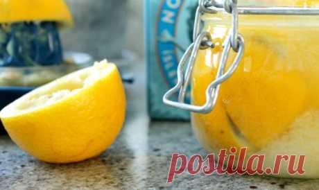 Как приготовить консервированные лимоны? | Вкусные рецепты