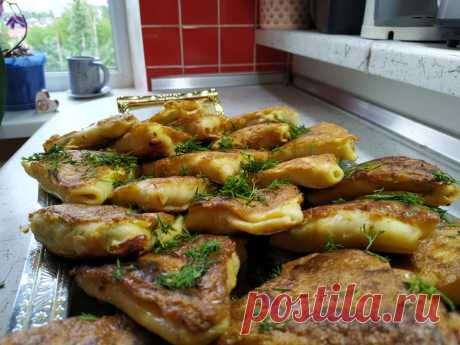 Вкуснее блинчиков! Привезла из Украины рецепт бендериков из теста и мяса