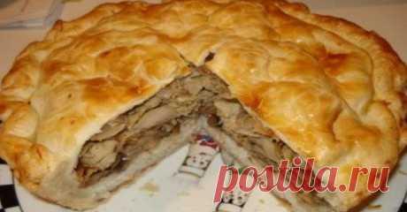 Узбекский курник — царь пирогов! Понадобятся самые простые продукты… - Советы домохозяйкам