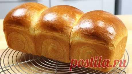 ХОККАЙДО Японский Молочный ХЛЕБ Hokkaido Milk Bread