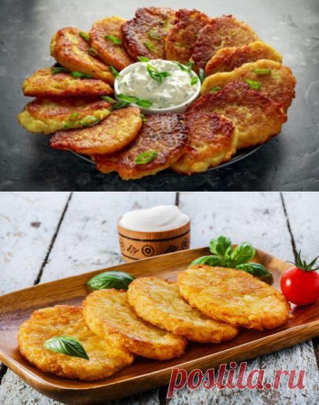 Готовлю самые вкусные драники без натирания картошки на тёрке - это ведь намного проще! - be1issimo.ru