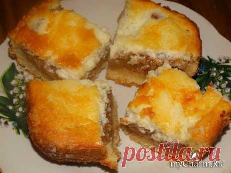 Пирог с суфле по мотивам рецепта Леночки (zolotaia): Группа Наши Вкусняшки!