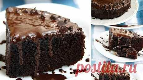 Супер-шоколадный бисквит — ДОМАШНИЕ
