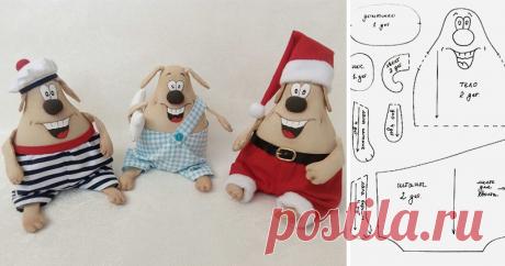 Шьем веселую собачку — символ Нового года Новый год не за горами, и я хочу предложить вам сшить символ нового 2018 года — веселую собачку. Для работы нам необходимы следующие материалы: — бязь белая примерно 50*22 см, кусочек плотного картона (на донышко) 9*5 см — холлофайбер, синтепух или любой другой наполнитель — палочка (для суши) для выворачивания или пинцет — ножницы, нитки белые, иголки — кофе, корица, ванилин, клей ПВА (для…