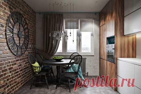 Кухня 9 кв. м: дизайн с холодильником, кухонным гарнитуром и посудомоечной машиной