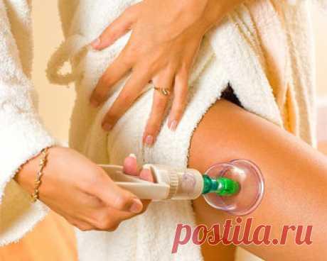 Баночный (вакуумный) массаж для похудения ног, бедер, живота, и лица
