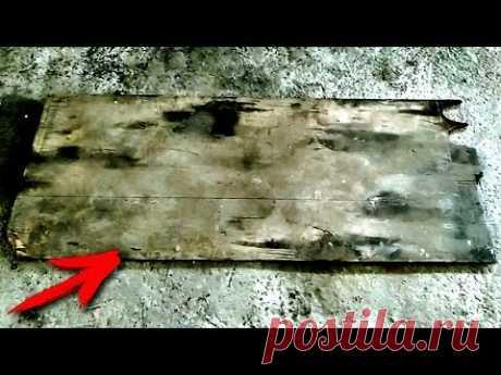 НЕ ВЫБРАСЫВАЙТЕ старый КУСОК ФАНЕРЫ! Классная Идея для гаража! - YouTube