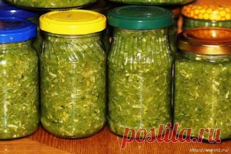 Горлодёр с хреном приготовленный из зелёных помидор
