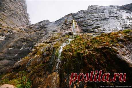 Самый высокий Пшехский водопад России глазами Андрея Василискова — Фотоискусство