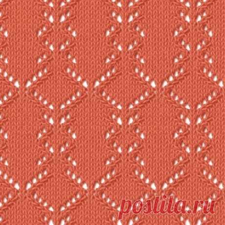Вязание на спицах - Ажурные узоры спицами - 47 схем (с азиатского сайта)