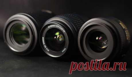 Что такое объектив в фотоаппарате