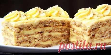 Ореховые пирожные (просто и вкусно)