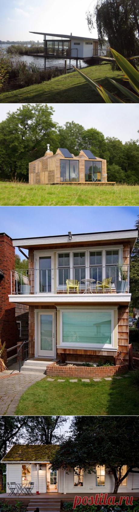 Небольшие дачные домики: 100 вариантов восхитительного дизайна — Дом и Сад