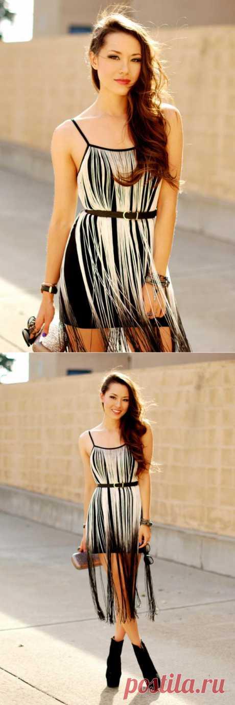 Идея для декора платья