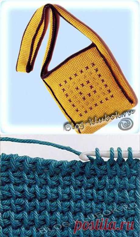 Тунисское вязание | Уроки вязания для начинающих бесплатно. Блог Клубок Владыкиной Елены. Вязание спицами, крючком.