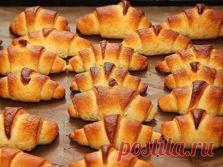 La receta muy simple de los cruasanes | las recetas de cocina más sabrosas